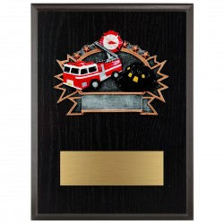 Sports Plaque (Small) - FireFighter