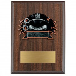 Sports Plaque (Small) - Police