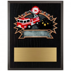 Sports Plaque (Large) - FireFighter