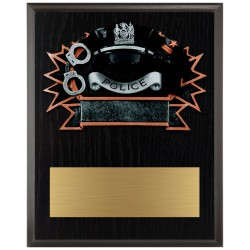 Sports Plaque (Large) - Police