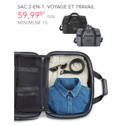 2-in-1 Bag - Travel and Work