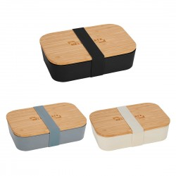 Lunch Container with Bamboo Cutting Board