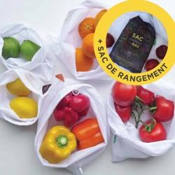 Ensemble de sacs pour fruits et légumes
