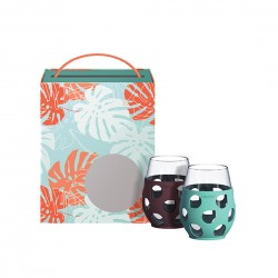 Asobu Garden Goblet Gift Set / Set of 4
