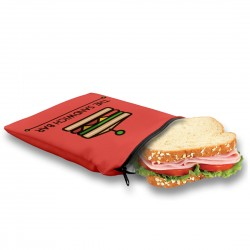 Reusable Sandwich Snack Bag - Made in Quebec