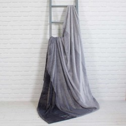 "4 Shades of Grey Throw Blanket 60"" X 70"""
