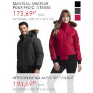 Manteau pour froid intense - Homme