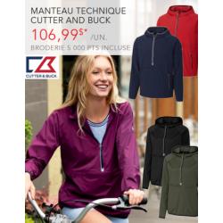 Manteau technique Cutter & Buck - Femme