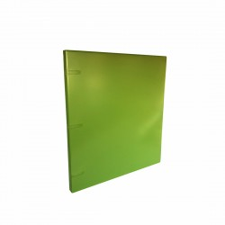 "3 Rings View Case Binder 0.5"" Letter - 100% Recyclable - Green"