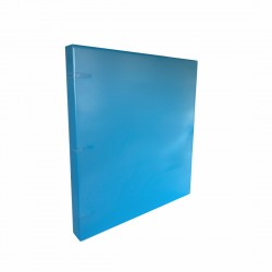 "3 Rings View Case Binder 1"" Letter - 100% Recyclable - Blue Ocean"
