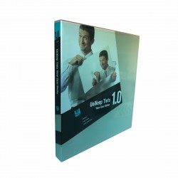 "3 Rings View Case Binder 1"" Letter - 100% Recyclable - Mint / Tints Clear"