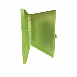 "3 Rings View Case Binder 1"" Letter - 100% Recyclable - Green"