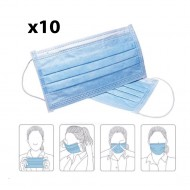 3-PLY Disposable Face Masks (10's)