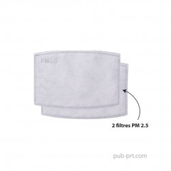 Replacement Filters PM2.5 (2's)