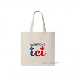 Buy Local - 100% Natural Cotton Bag